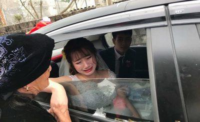 Cộ dâu khóc trong ngày cưới