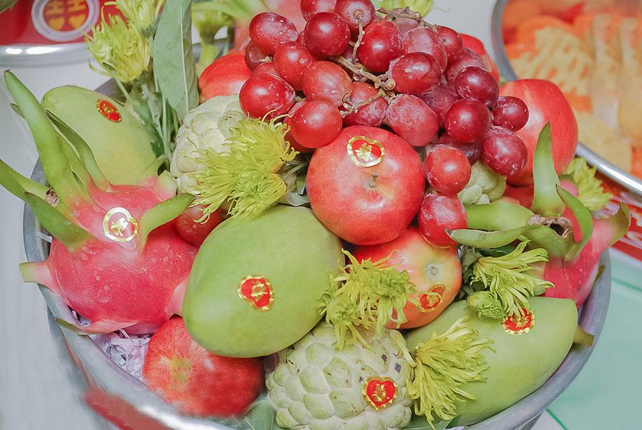 trái cây ngũ quả