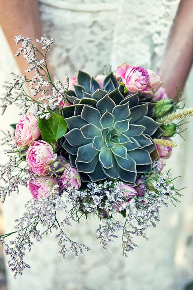 Hoa cưới cầm tay độc đáo