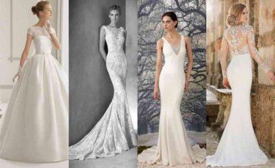 phân biệt các kiểu váy cưới