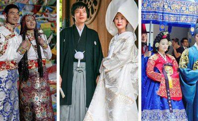 Trang phục cưới truyền thống của các quốc gia trên thế giới