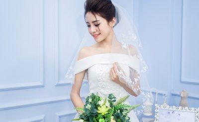 Làn da đẹp cho cô dâu