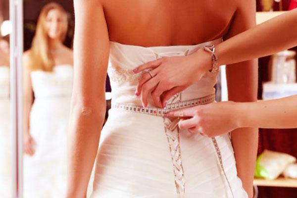 vóc dáng cô dâu
