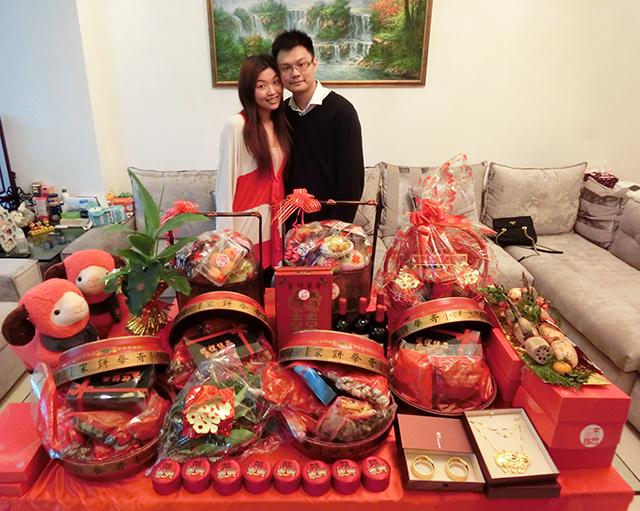 Sính lễ cưới của người Hoa