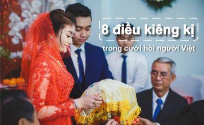 kiêng kỵ trong cưới hỏi