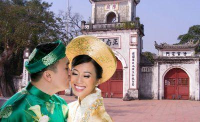 lễ cưới người nam định