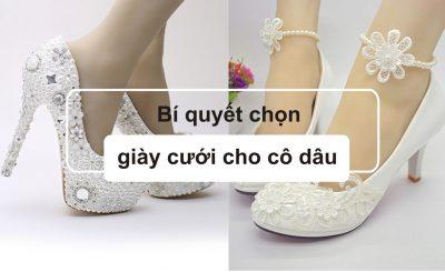 Bí quyết chọ giày cưới cho cô dâu