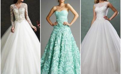 Váy cưới chữ A