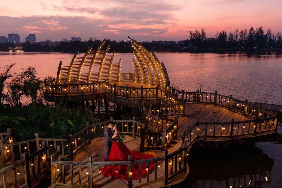 Phim trường chụp ảnh cưới Alibaba