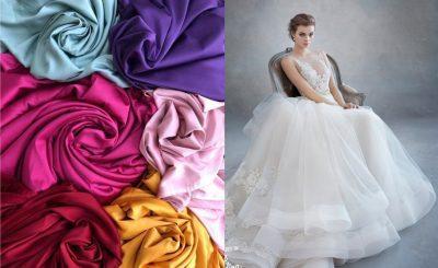 chất liệu vải may áo cưới