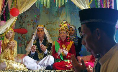 đám cưới của người Chăm theo truyền thống.