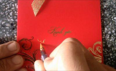 Cách viết thiệp cưới