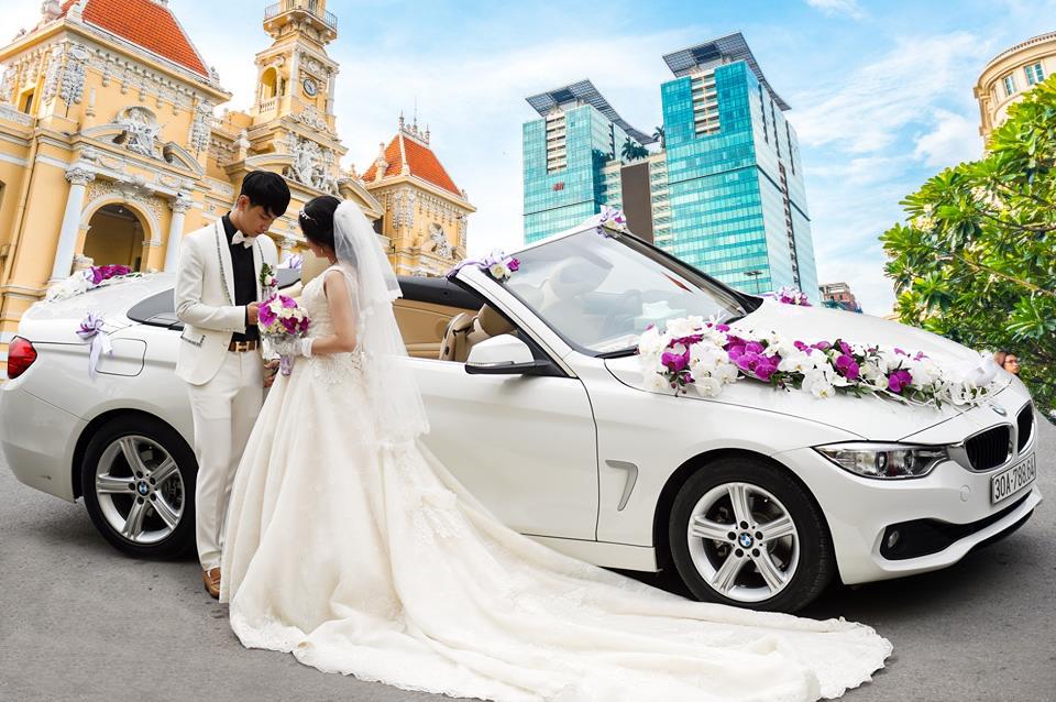 xe cưới mui trần