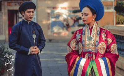 trang phục cưới cổ xưa