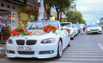 xe hoa rước dâu