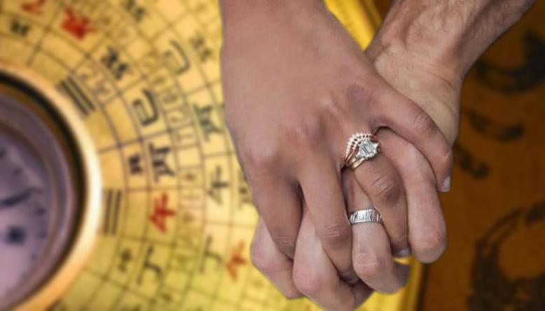 nhẫn cưới phong thủy
