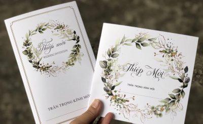 lựa thiệp cưới